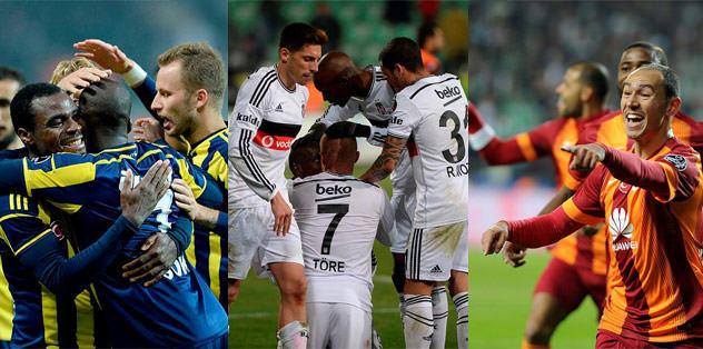 En büyük çekişme Süper Lig'de