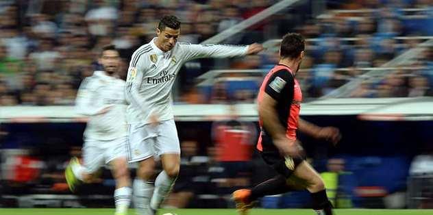 Real Madrid zirve takibini sürdürdü