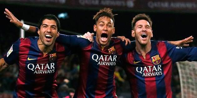 Müthiş üçlü: 102 gol