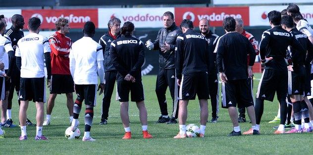 Beşiktaş'ta Trabzon hazırlıkları sürdü