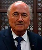 Blatter'den tebrik mesajı geldi