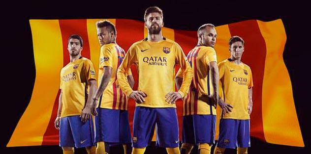Sarı-kırmızı Barcelona
