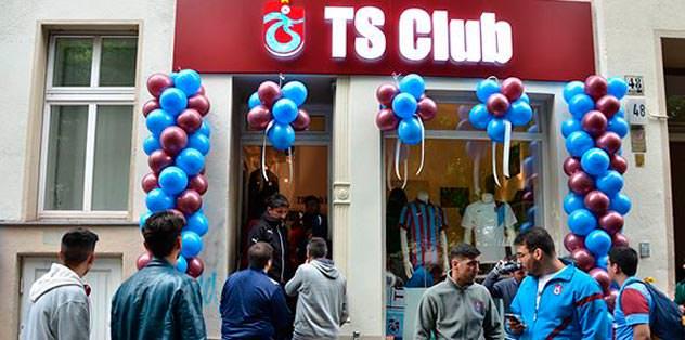 Berlin TS Club mağazası açıldı