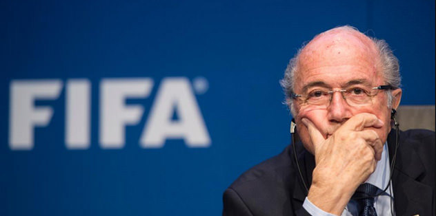 FIFA Başkanı Blatter istifa etti