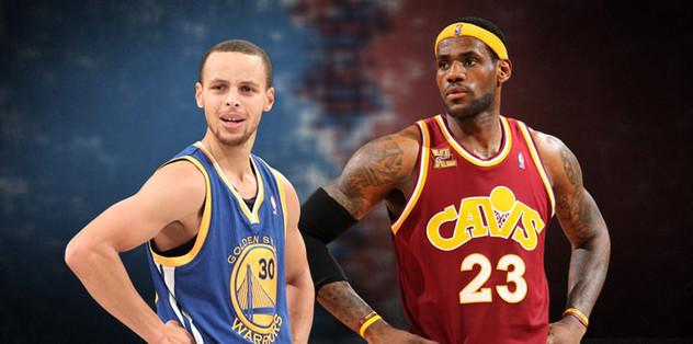 LeBron, Curry'ye karşı