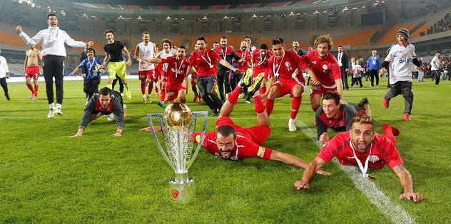 Antalyaspor Süper Lig'de