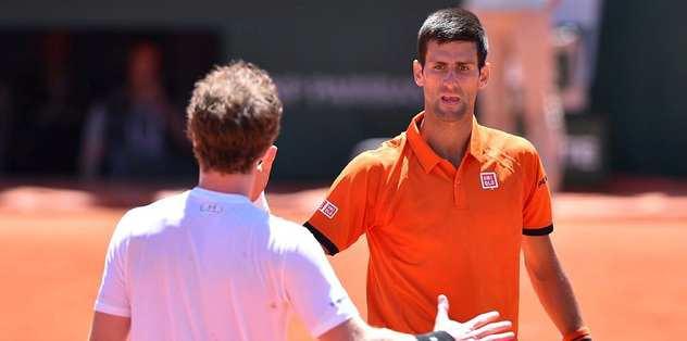 Wawrinka'nın finaldeki rakibi Djokovic