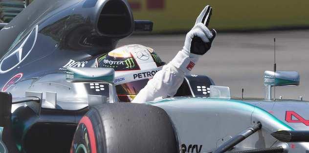 "Hamilton 6. kez ""pole"" pozisyonunda"