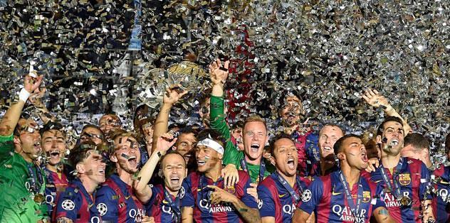 Şampiyon Barça