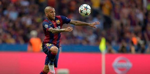 Bu sezonun çileği Alves
