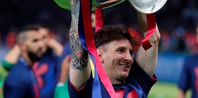 Messi'den 10 yılda 23. kupa