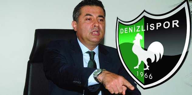 Denizlispor'da Kıbrıslıoğlu yeniden başkan