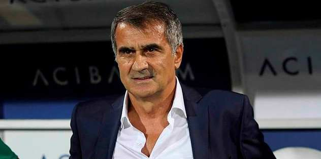 Şenol Güneş Beşiktaş'ı açıkladı