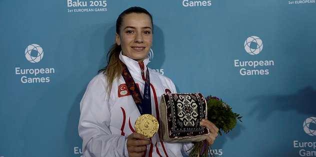 Altın madalya alan ilk Türk
