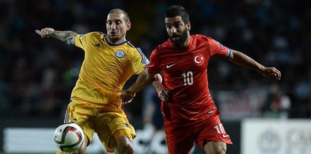Turkey beat Kazakhstan in UEFA Euro qualifier