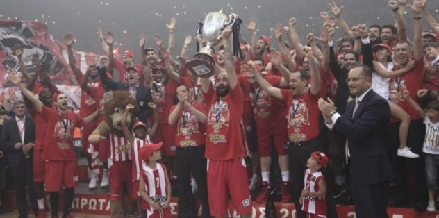 Olympiacos clinch Greek league victory