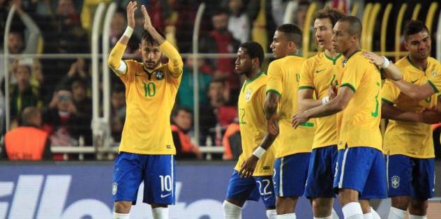 Brazil topple Peru by late winner