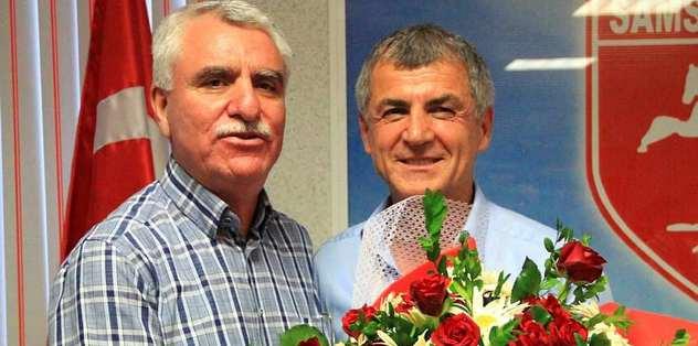 Erhan Altın ile Samsunspor vedalaştı