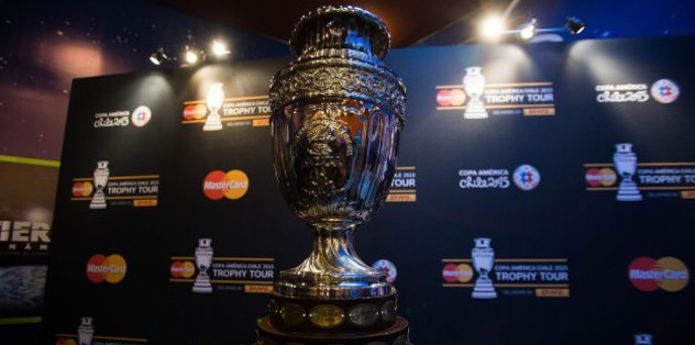 Copa America hosts Chile lead Group A