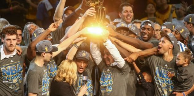 Golden State Warriors win title after 40-year wait