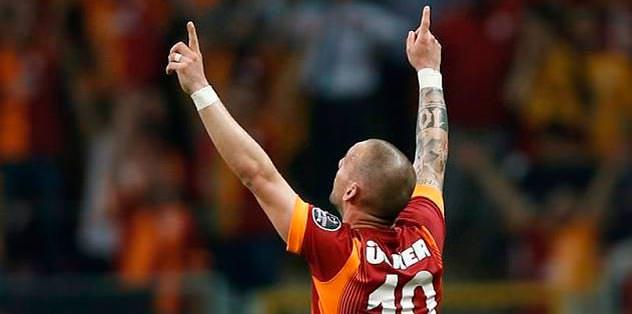 Sneijder'in de zam için eli güçlendi