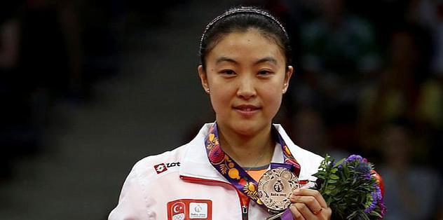 Melek Hu bronzu kaptı