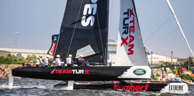 First Turkish team in adrenaline-fueled extreme sailing