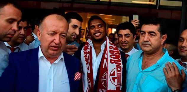 Eto'o Antalyaspor'da