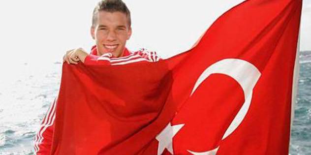 Türk gibi Lukas Podolski