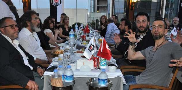 Beşiktaşlı sanatçılar iftarda buluştu