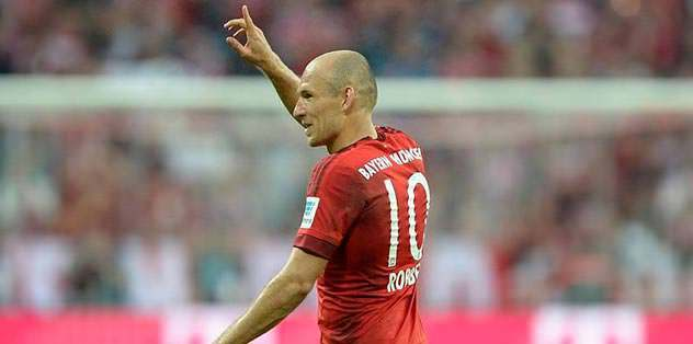 Sıra Robben'de