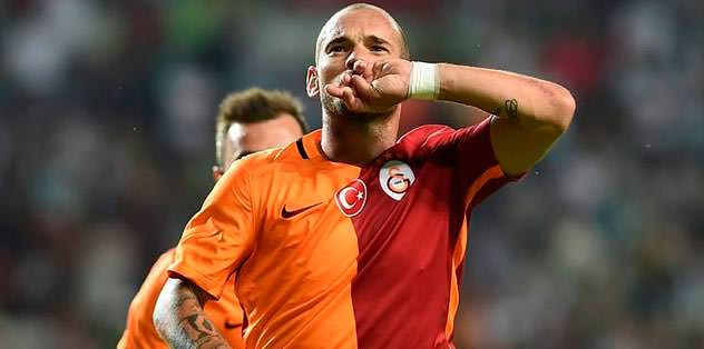 Sneijder'e UEFA kilidi!