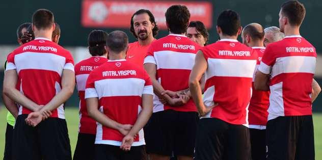 Antalyaspor Es-Es sınavına hazırlanıyor