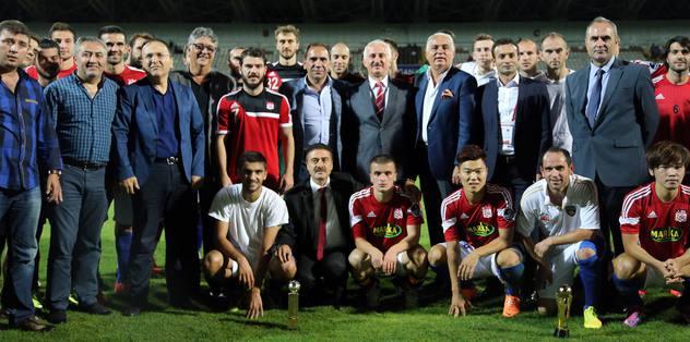 Cumhuriyet Kupası 'Yiğidolar'ın