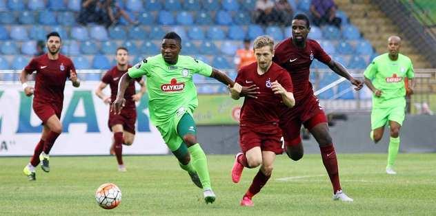 Trabzon, Rize'yi 3'ledi