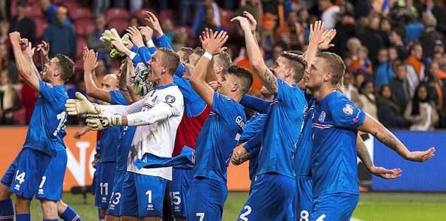İzlanda, Fransa biletini kaptı