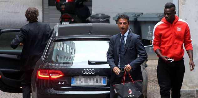 Balotelli polise yakalandı!