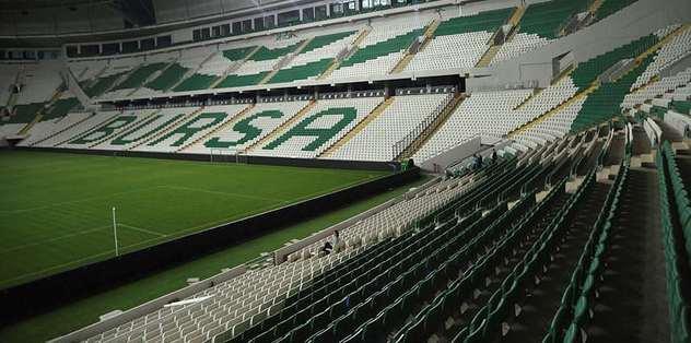 Bursaspor'a Timsah Arena şoku