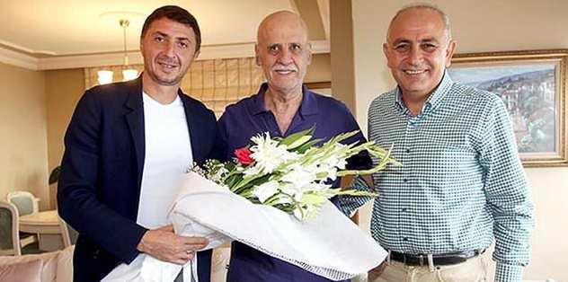 Trabzonspor'dan Özyazıcı'ya ziyaret