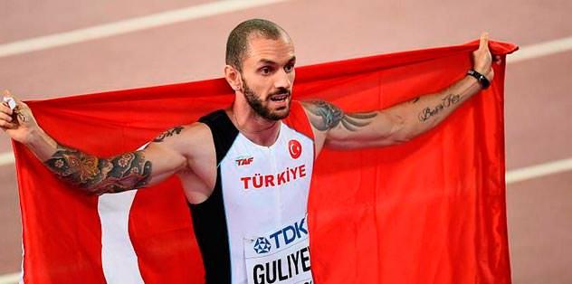 Guliyev'den rekor