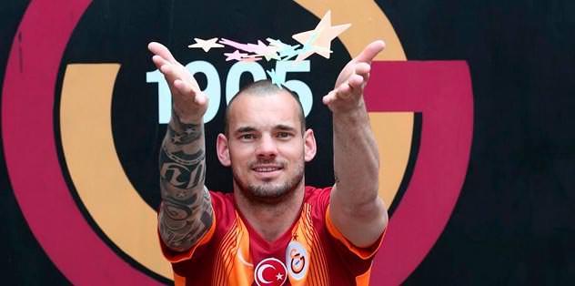 Sneijder demirbaşımız