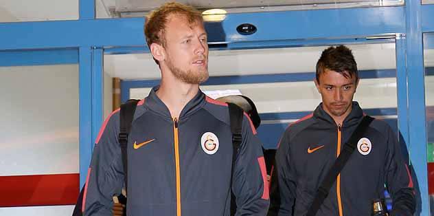 G.Saray, Trabzon'a gitti