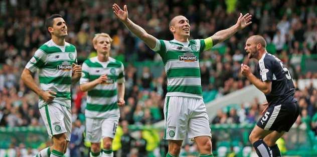 Celtic gol oldu yağdı
