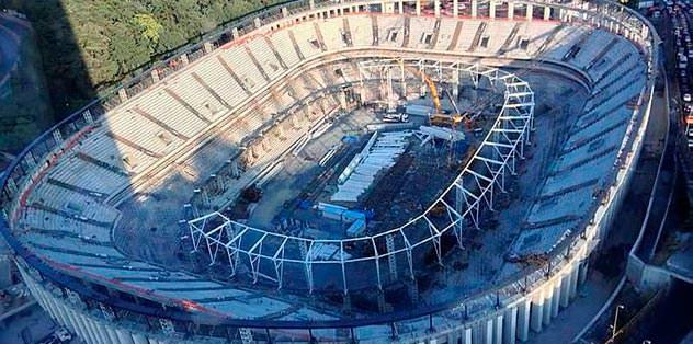 Vodafone Arena sevinci