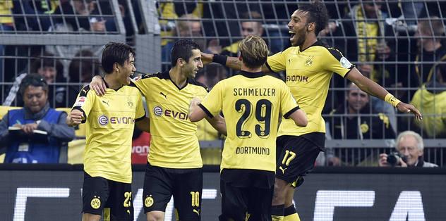 Dortmund liderliği bırakmadı
