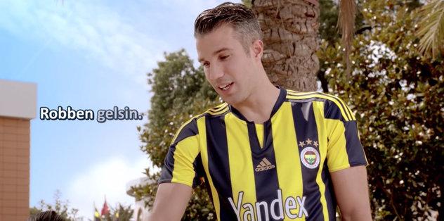 Fenerbahçe'den Robben kampanyası!