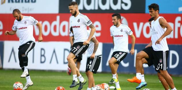 Beşiktaş'ta derbi mesaisi sürdü