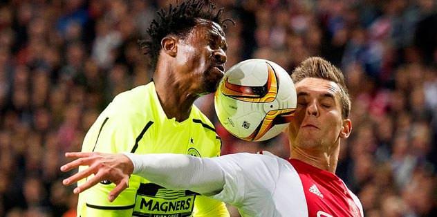 Ajax galip, Celtic sessiz!