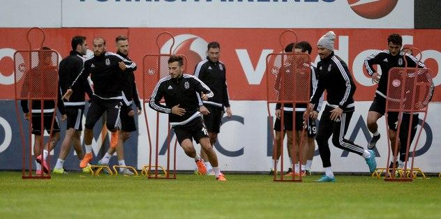Beşiktaş'ta Lizbon hazırlıkları tamamlandı