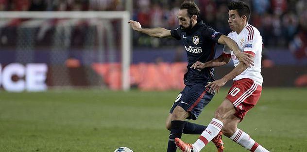 Benfica'dan Atletico'ya şok